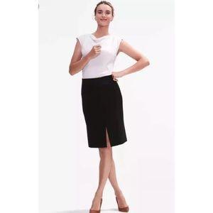NEW MM Lafleur Greenpoint Skirt Black Work Career